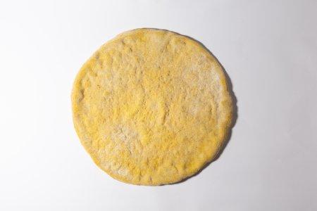 Pizza semintegrale con curcuma e lievito madre - 2pz